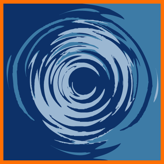 CCI logo - ripples spreading outward